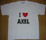 Tee shirt blanc H F I LOVE AXEL.jpg