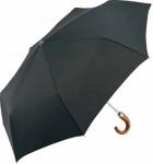 parapluie pliant, parapluie canne bois