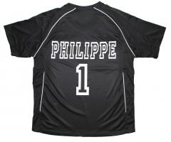 maillot foot personnalisé, prénom, numéro, imprimé, impression, sport, sportif, cadeau